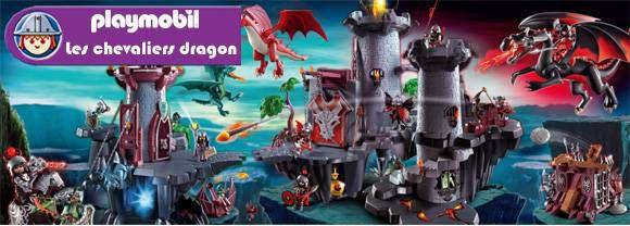playmobil donjon du dragon vert achat vente univers miniature cdiscount. Black Bedroom Furniture Sets. Home Design Ideas