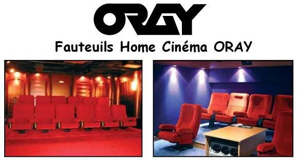 oray fauteuil home cinema ecran de projection avis et prix pas cher cdiscount. Black Bedroom Furniture Sets. Home Design Ideas
