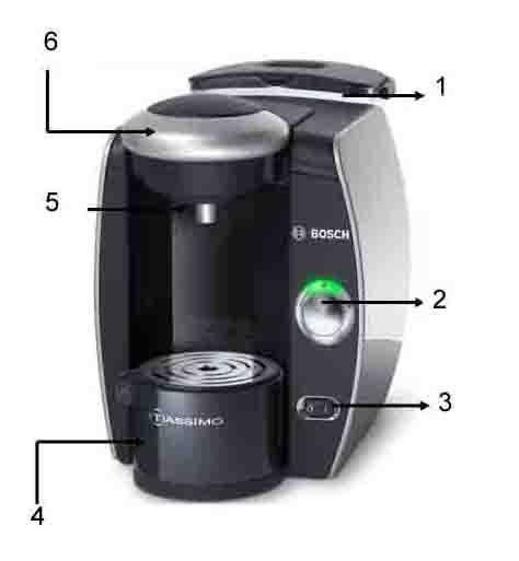 bosch tassimo tas 4018 - achat / vente machine à café - cdiscount