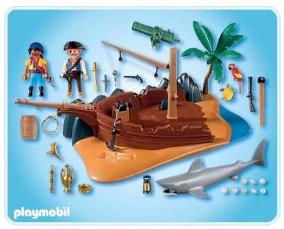 playmobil superset pirates achat vente univers. Black Bedroom Furniture Sets. Home Design Ideas