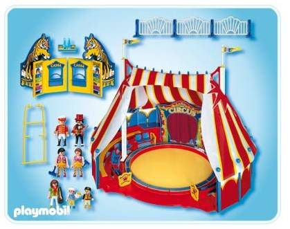 playmobil grand chapiteau cirque achat vente univers. Black Bedroom Furniture Sets. Home Design Ideas