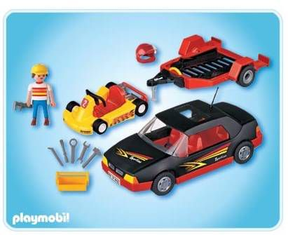playmobil voiture de sport karting achat vente univers miniature cdiscount. Black Bedroom Furniture Sets. Home Design Ideas