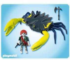 Playmobil pirate fant me et crabe g ant achat vente - Pirate fantome ...