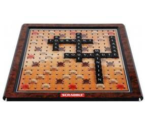 scrabble deluxe achat vente jeu soci t plateau. Black Bedroom Furniture Sets. Home Design Ideas